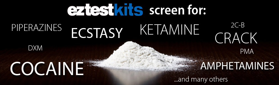 EZ Test Kits Screen For Many Substances