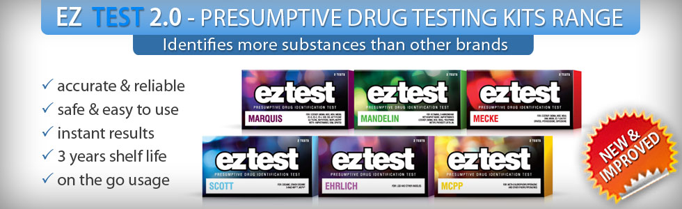 EZ TEST Home Drug Testing Kits