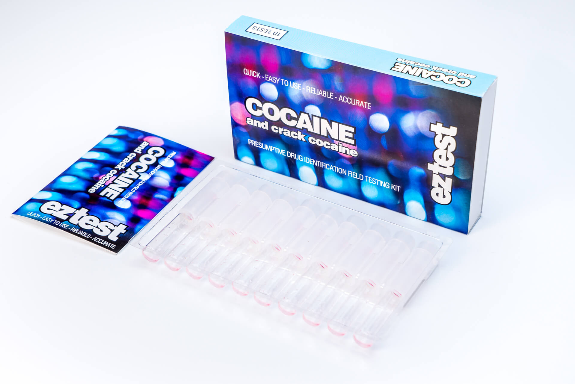 Cocaine 10 Use Drug Testing Kit