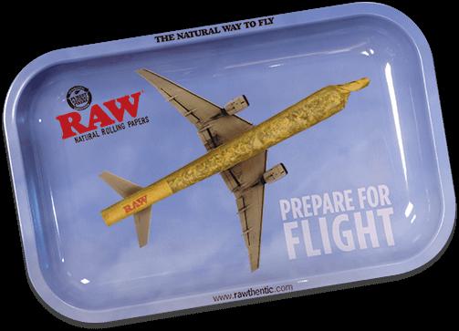 RAW Classic Rolling Trays Medium - Flying