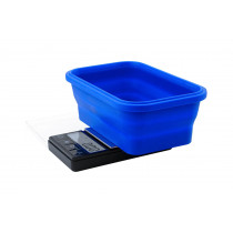 On Balance SBS-200 Scale with Blue Collapsible Silicone Bowl - 2