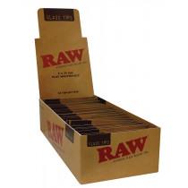 RAW Glass Tips Flat x 24