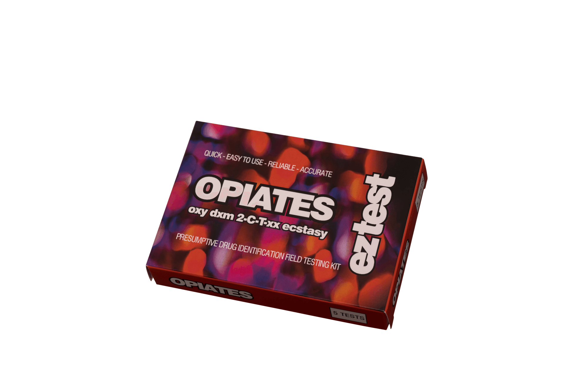 Opiates 5 Use Drug Testing Kit