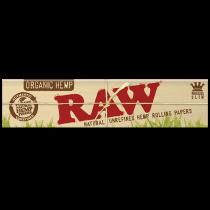 RAW Organic Hemp King Size Slim Rolling Papers x 50