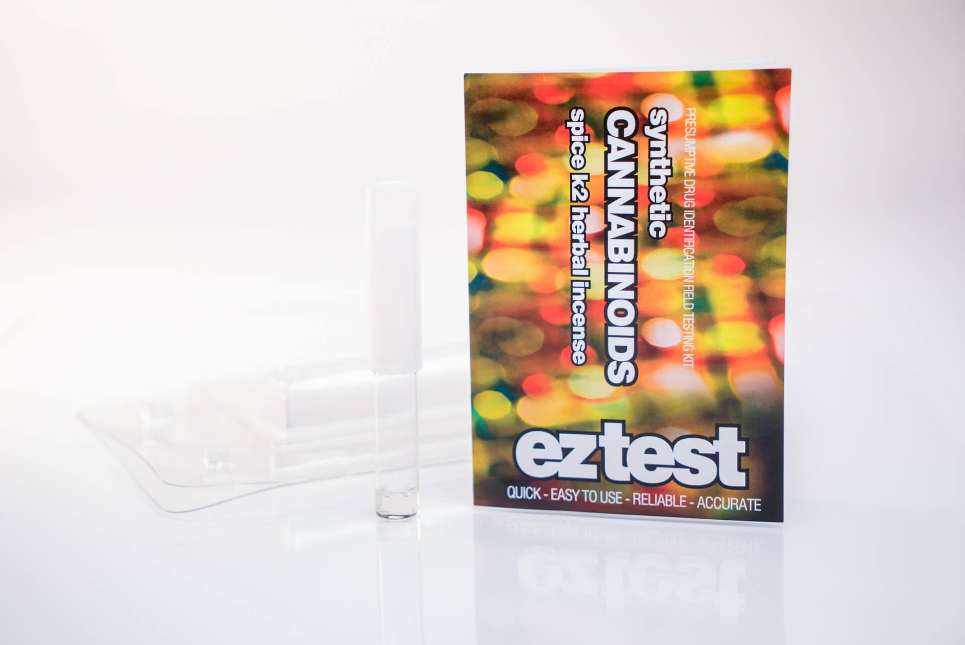 Kit de Test de Cannabinoïdes Synthétiques à Usage Unique