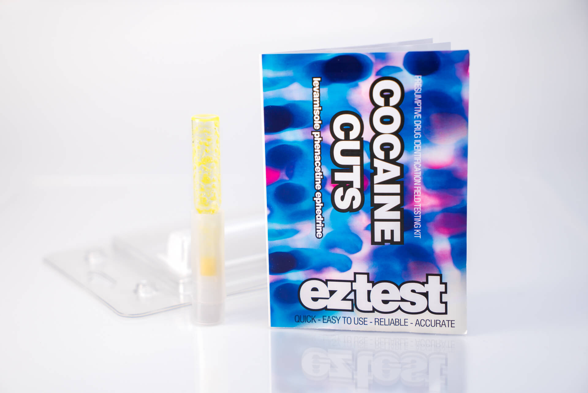 Cocaine Cuts Single Use Drug Testing Kit