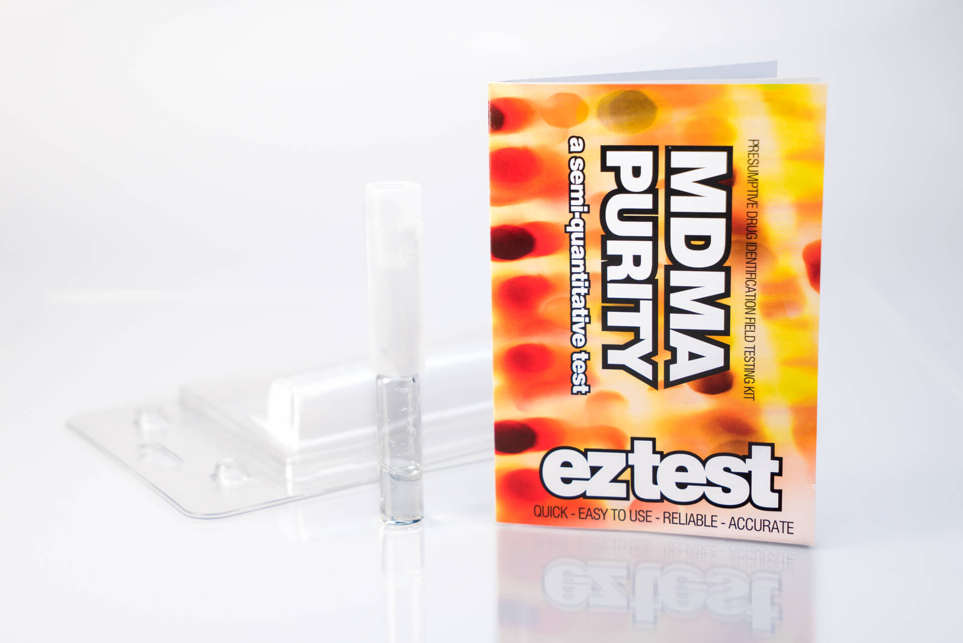 MDMA Purity Single Use Drug Testing Kit