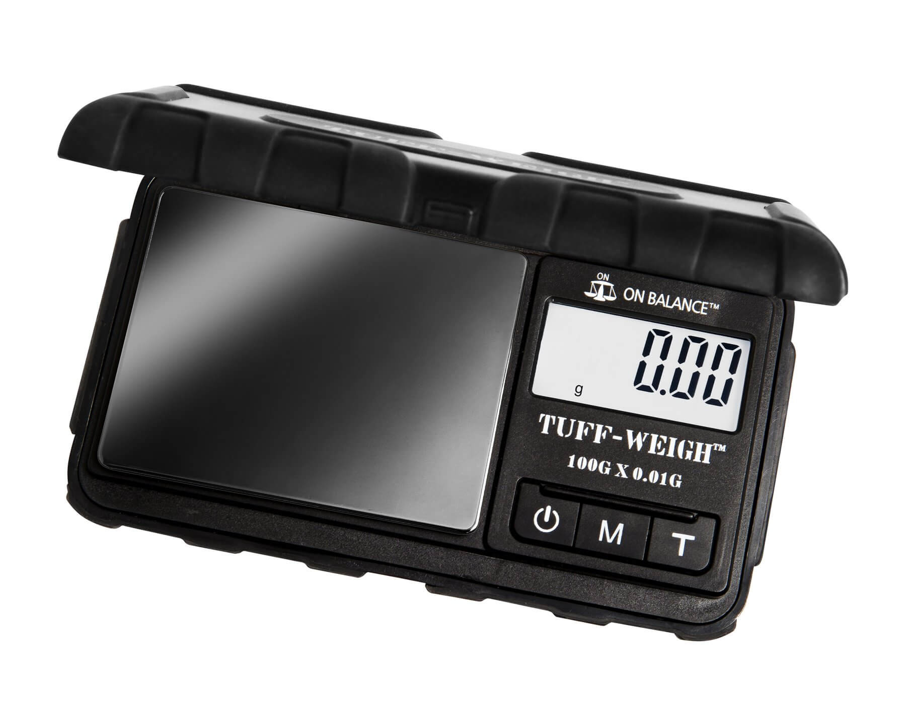 On Balance TUF-100 Tuff Weigh Pocket Scale (100g x 0.01g) - Black