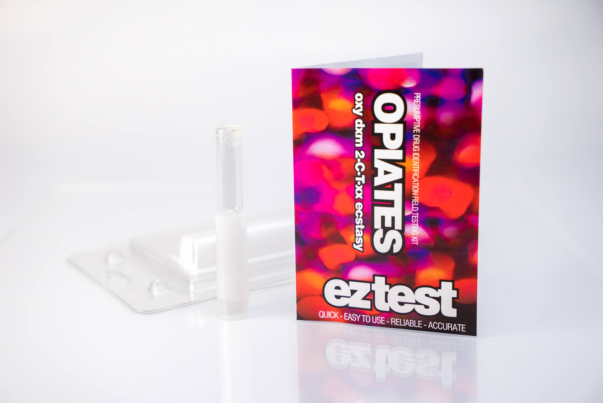 Opiates Single Use Drug Testing Kit