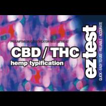 EZ Test for CBD / THC - Hemp Typification - 10 Tests