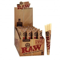 RAW Classic Pre-Rolled King Size Cones - 3 x 32