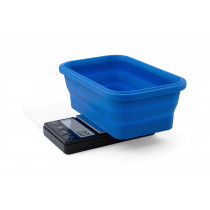 On Balance SBS-1000 Scale with Blue Collapsible Silicone Bowl (1000g x 0.1g)
