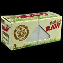 RAW Organic Hemp Rolls 5 metres x 24