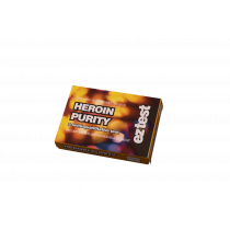 Heroin Purity 5 Use Drug Testing Kit