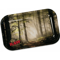 RAW Classic Rolling Tray Medium - Forest