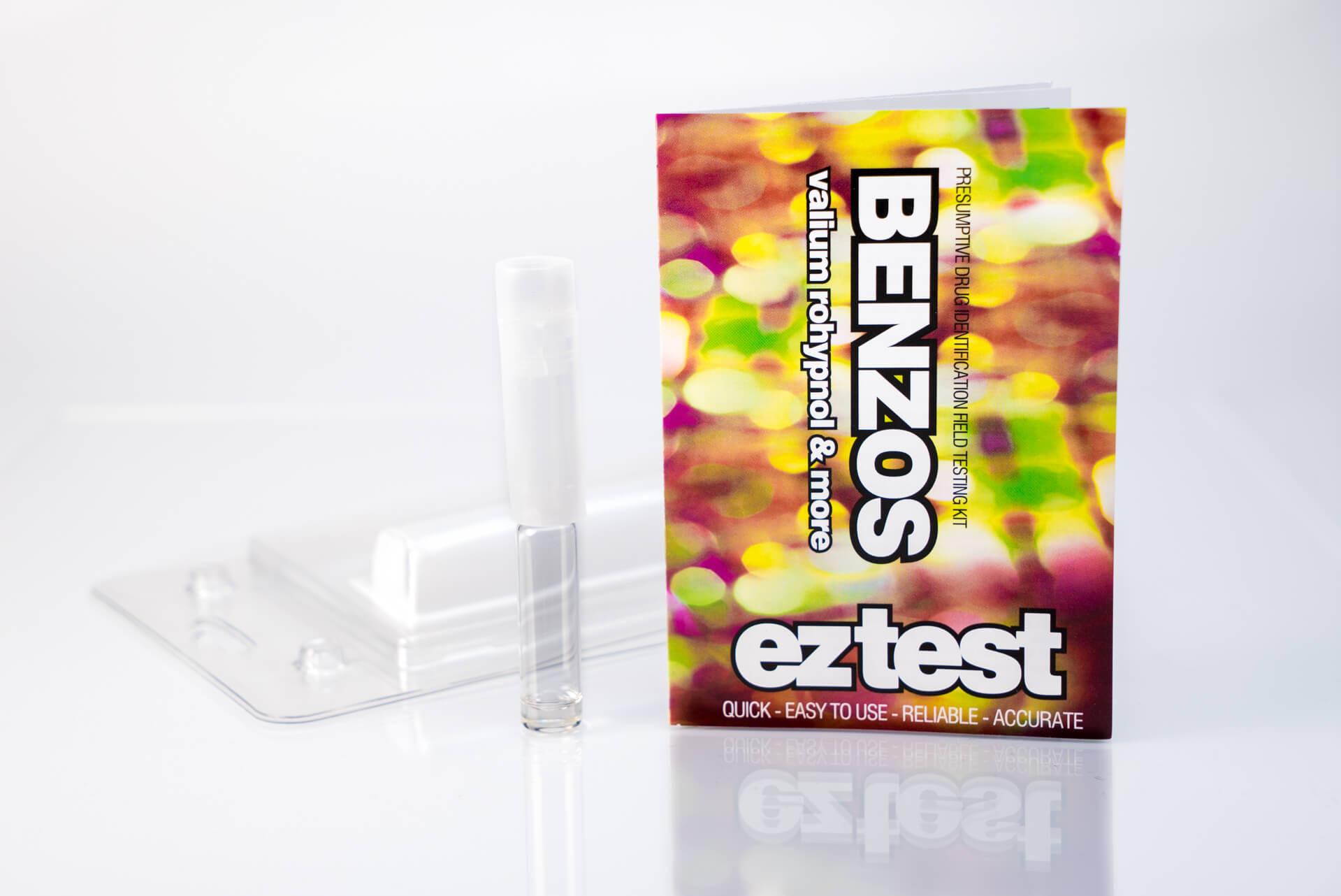 Kit de Pruebas de Benzodiacepinas de Uso Único
