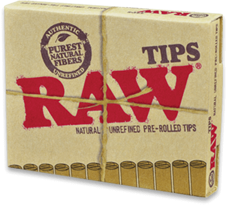 RAW Pre-Rolled Tips x 20