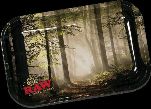 RAW Classic Rolling Tray Medium - Forest
