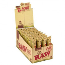 RAW Organic Pre-Rolled King Size Cones - 3 x 32