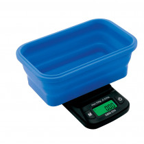 On Balance SBM-100 Scale with Blue Collapsible Silicone Bowl (110g x 0.01g)