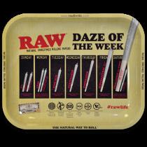 RAW Classic Rolling Tray Medium - Daze of the Week