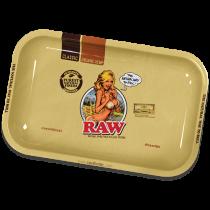 RAW Classic Rolling Trays Medium - Girl