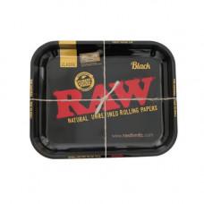 RAW Black Edition Rolling Tray - Medium