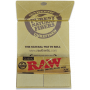 RAW Organic Hemp Artesano 1 1/4 Width Rolling Papers w/ Tips and Tray x 15 - 2